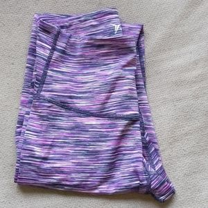 Old Navy Cute pink/purple washy active leggings!